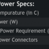 tdp or power consumption