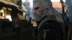 Geralt on the street