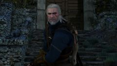 Geralt ready for a fight