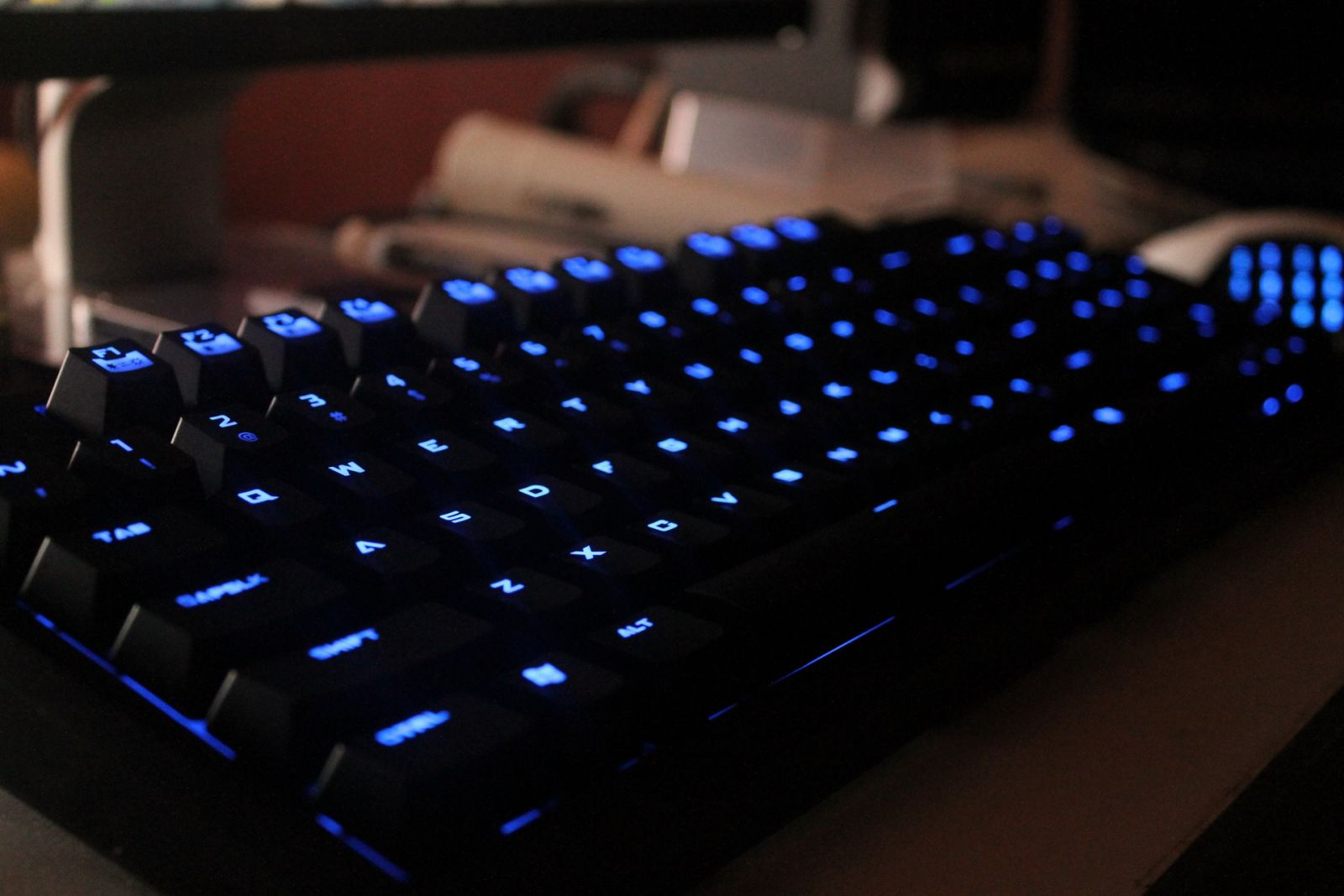 CM Storm Quickfire TK with Blue switches.