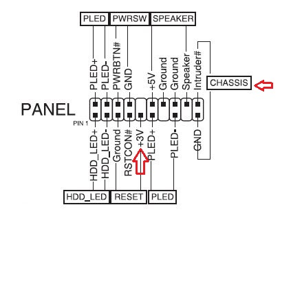 Motherboard Front Panel    Diagram         Wiring    Diagrams