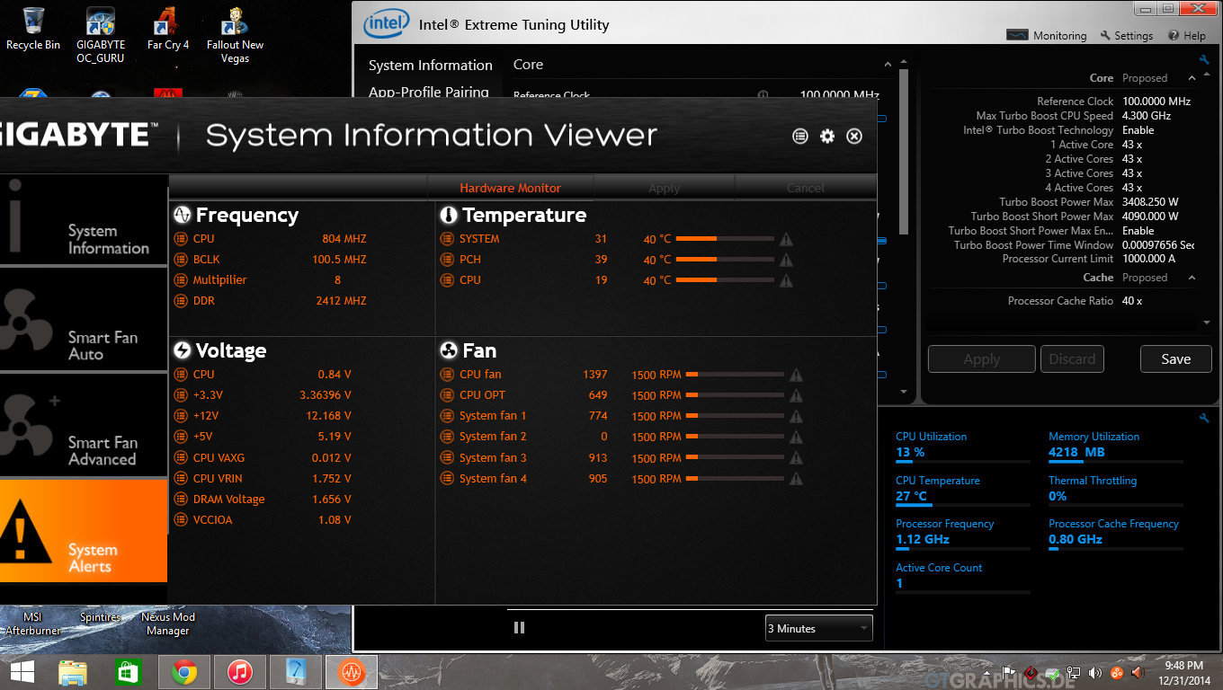how to find my cpu temp