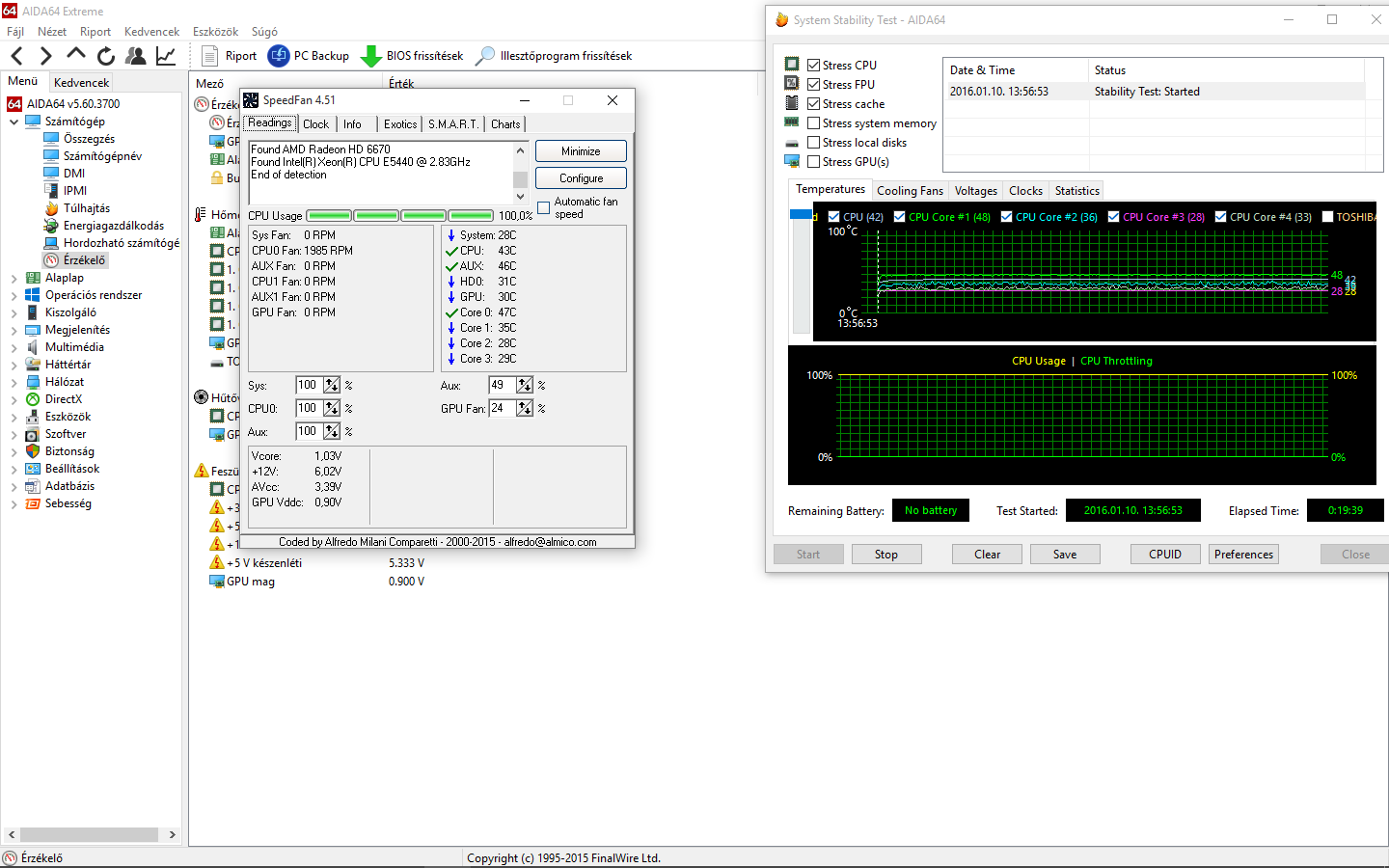Core temps seem low under load Xeon E5440 - CPUs, Motherboards, and