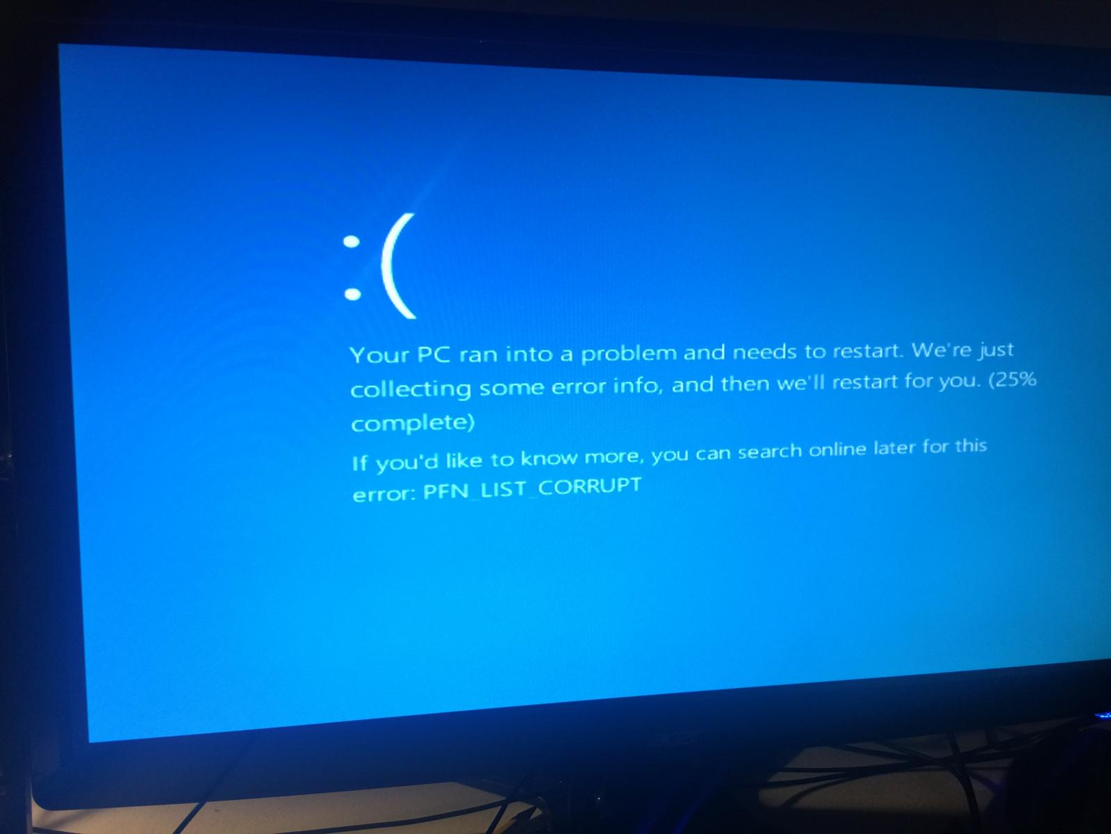 Windows 10 Crashes 3 days in a row - Troubleshooting - Linus Tech Tips