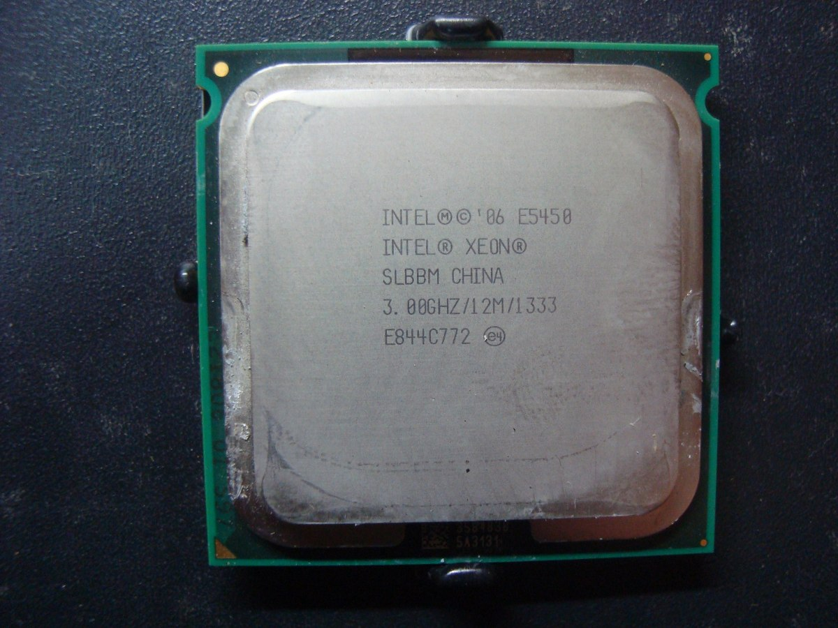 Dell Optiplex 330 with Xeon E5450, need help with a BIOS mod