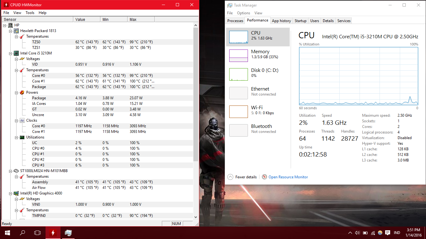 Are these temperature even safe? [Laptop] - CPUs, Motherboards, and