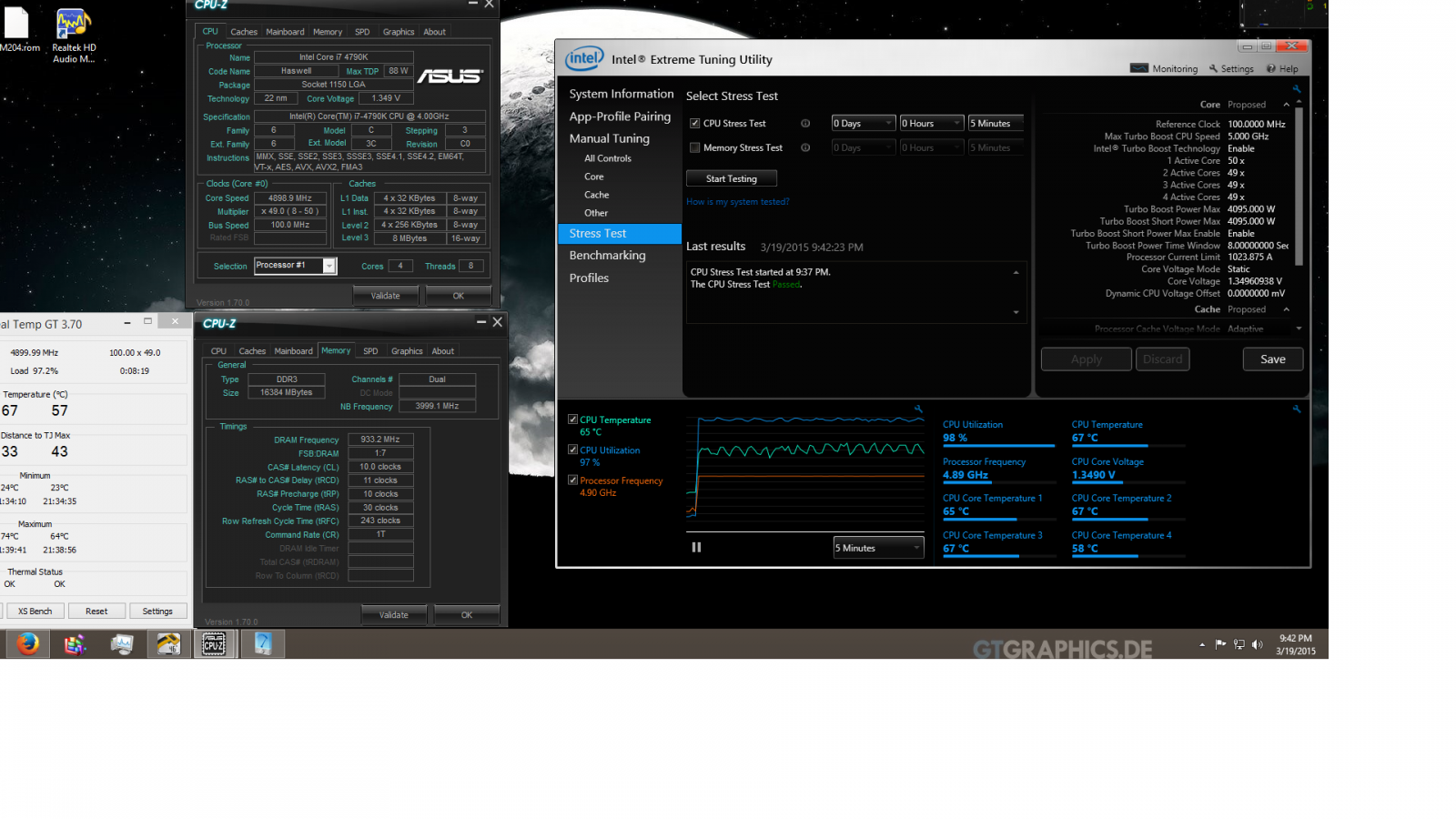 4790k Overclocking 5ghz or Not? - CPUs, Motherboards, and