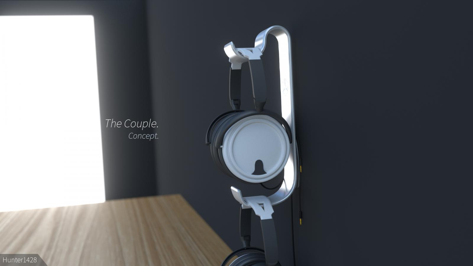 Silverstone wall mounted headphone holder concept off topic linus tech tips - Wall mount headphone holder ...