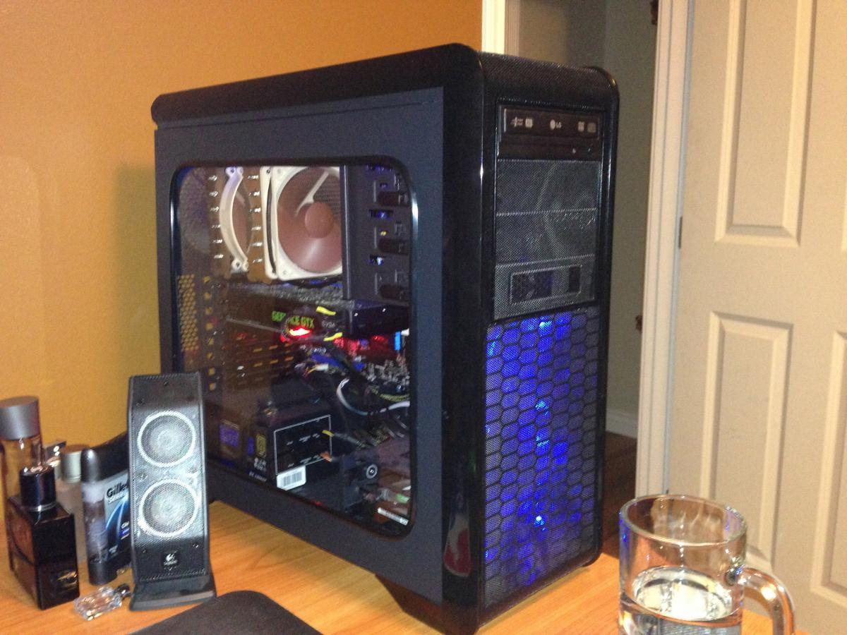 Rosewill Blackhawk Case Mod - Cases and Power Supplies
