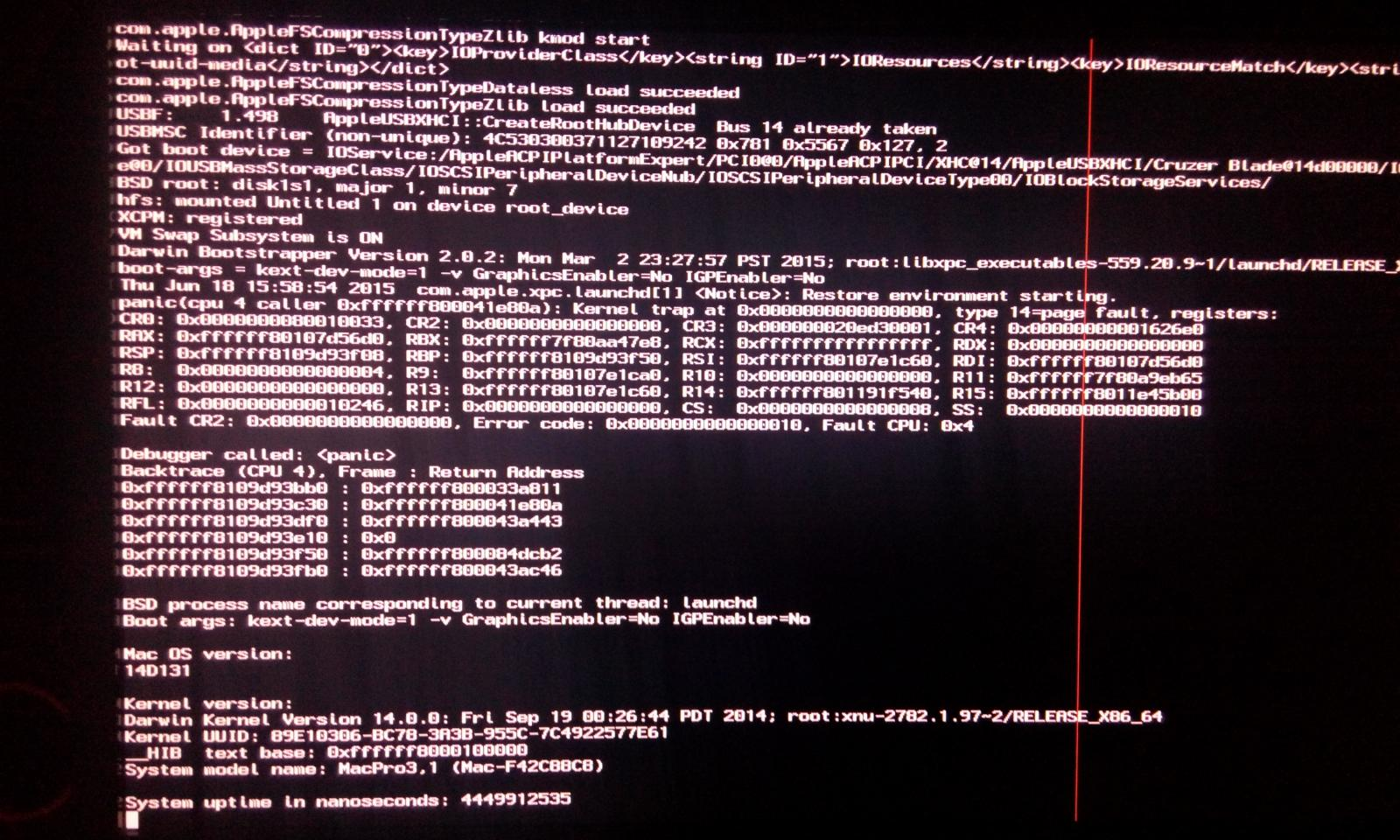 Need Help Kernel Panic On Unibeast (Yosemite) ! - Guides and