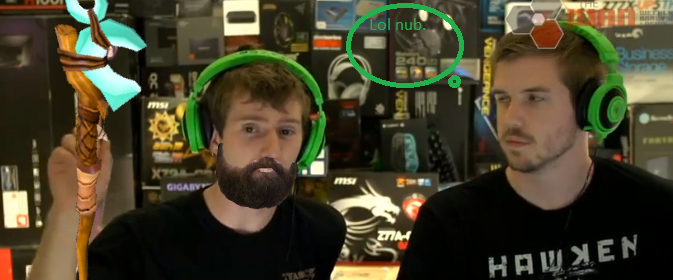 Lost pictures of Linus with a mustache and beard - Off ...