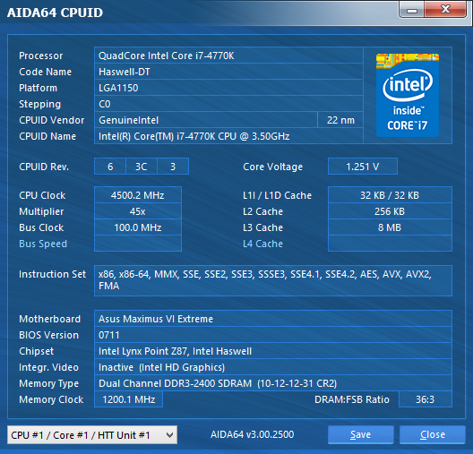 CPUID and CPU-Z giving me two different volts? - CPUs