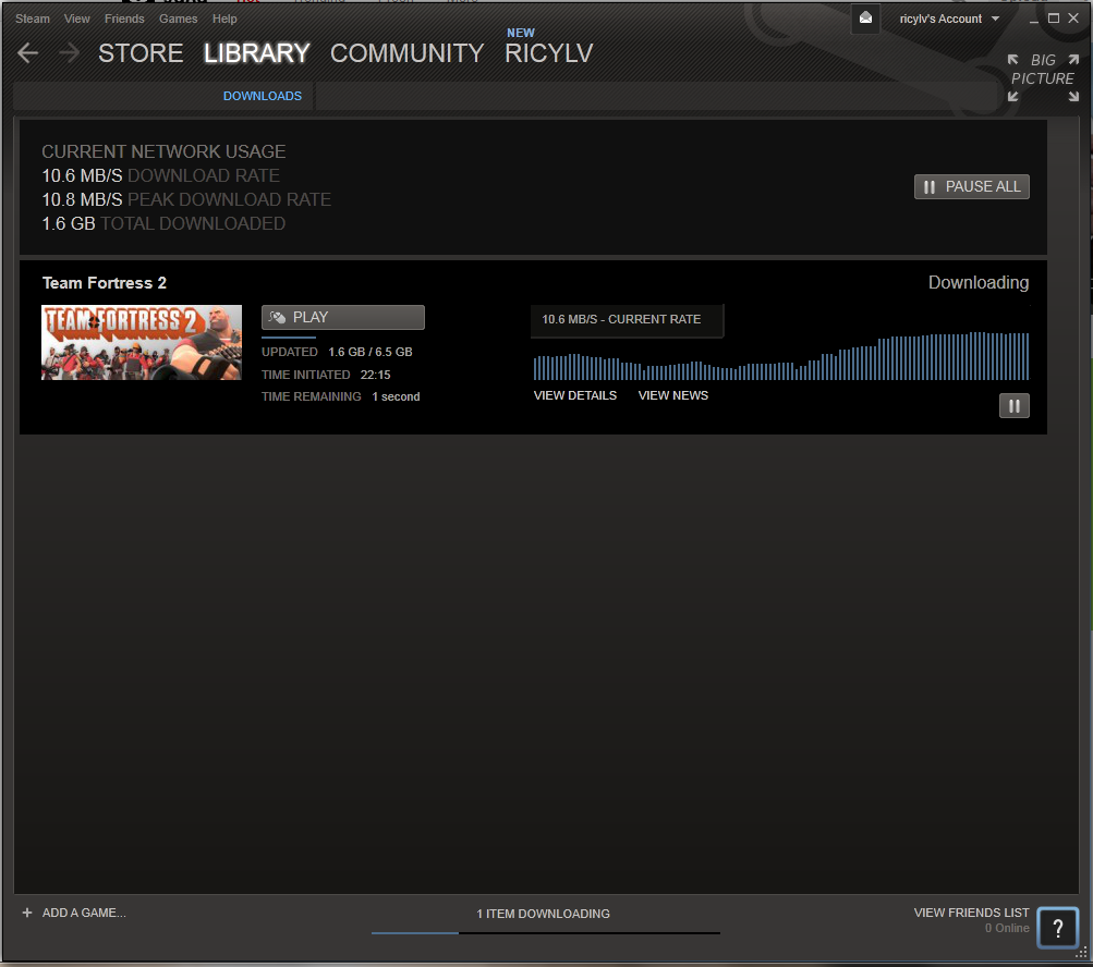 how to unlimit steam download speed