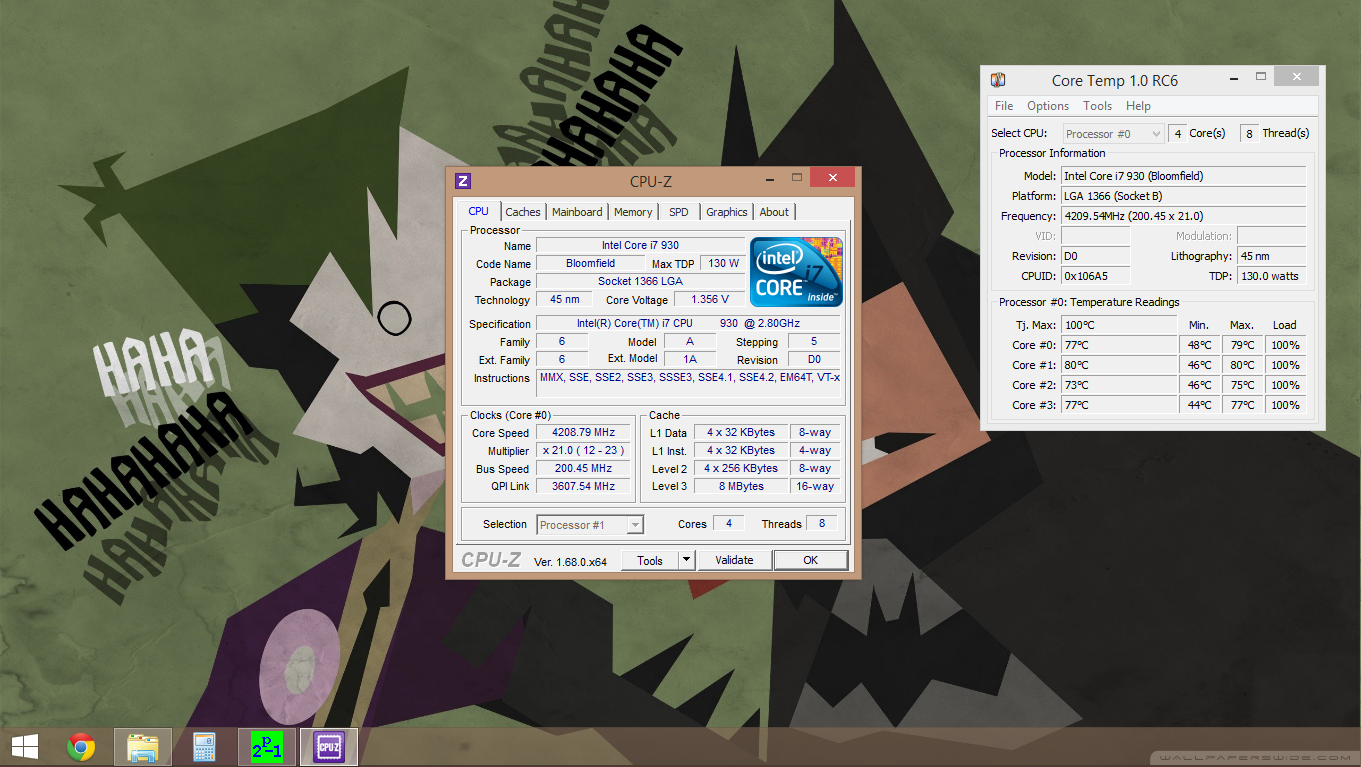 Overclocked I7 930 Temps Normal With H105 Cpus