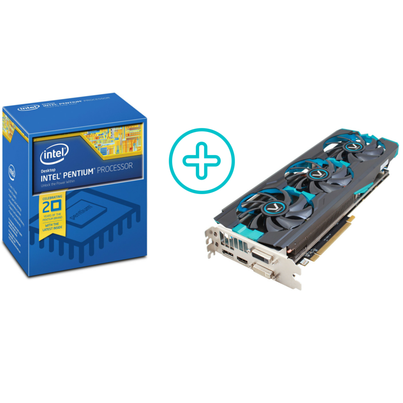 will the Intel Pentium G3258 bottle-neck on the Sapphire R9 280X