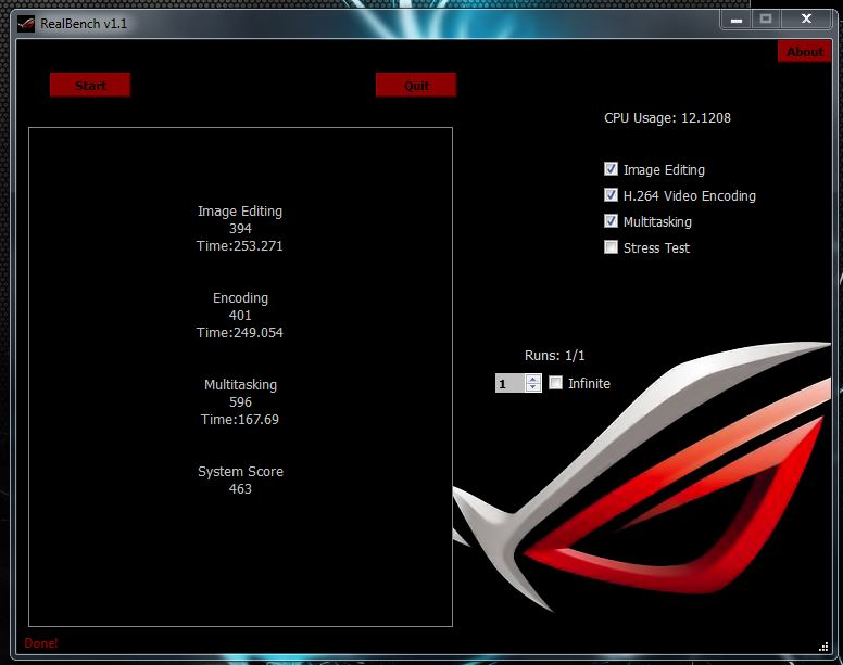 Asus ROG Realbench Scores - CPUs, Motherboards, and Memory - Linus Tech Tips