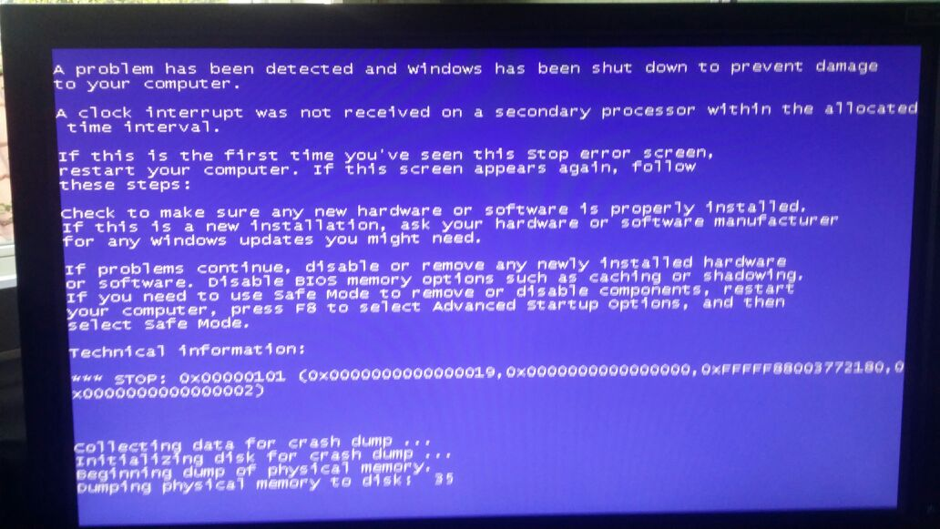 Why does my computer blue screen when I play CS: GO