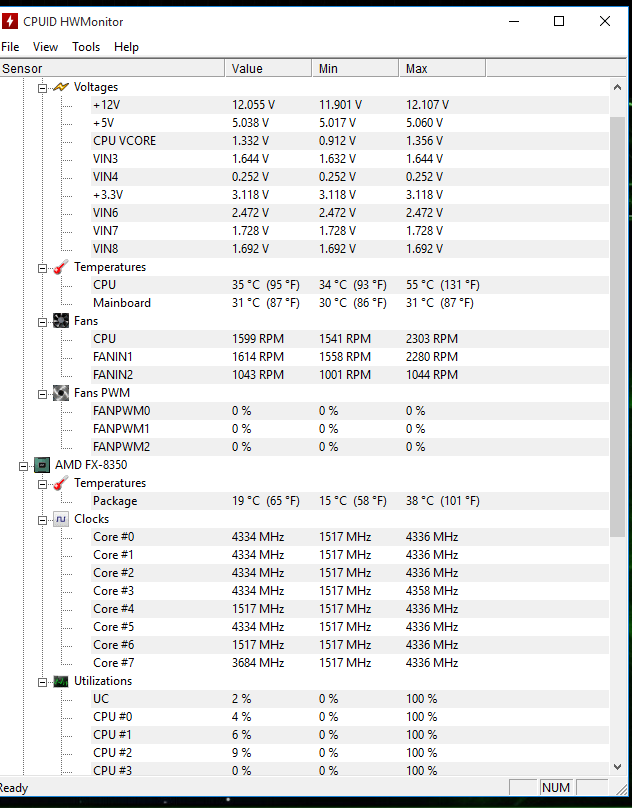 FX-8350 & H105 temps - CPUs, Motherboards, and Memory