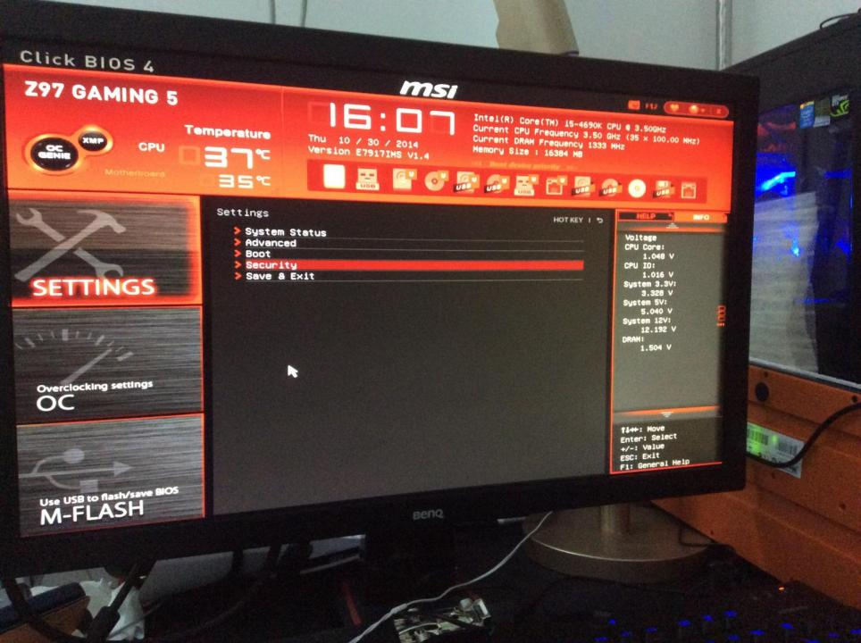 Msi X470 Not Booting