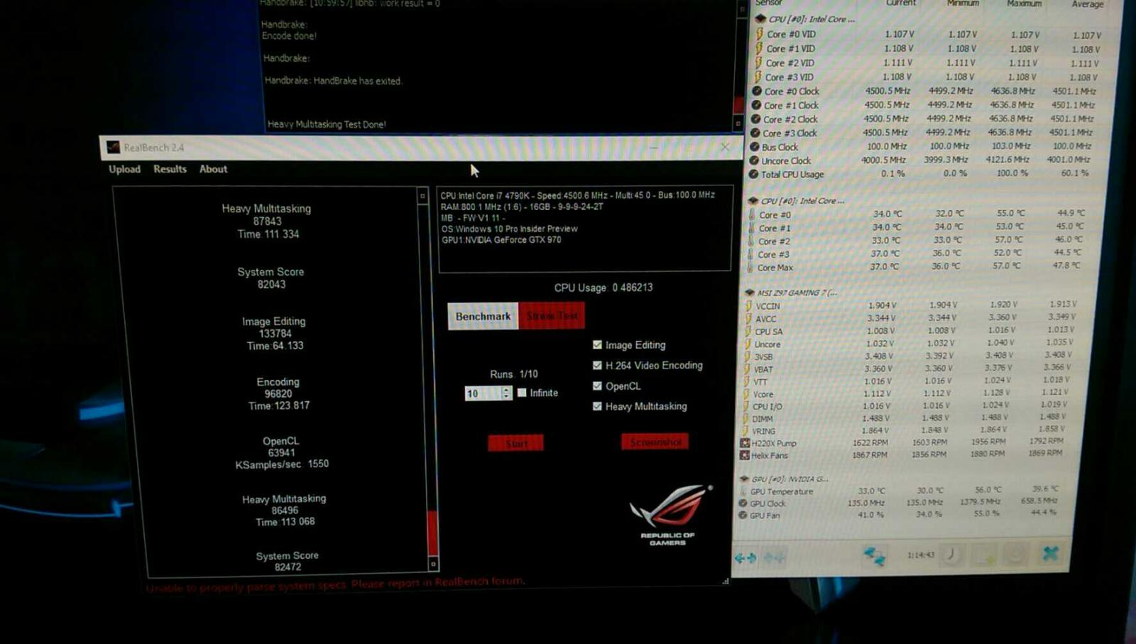 Intel Haswell 4670k + 4770K Overclocking guide - Page 31