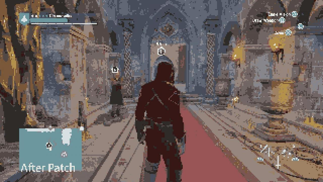 how to fix the graphical issue on revelations