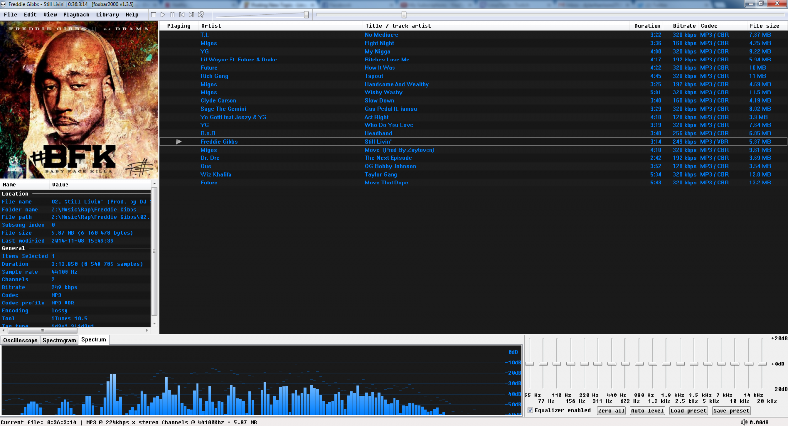 Foobar 2000 Theme for download - Off Topic - Linus Tech Tips