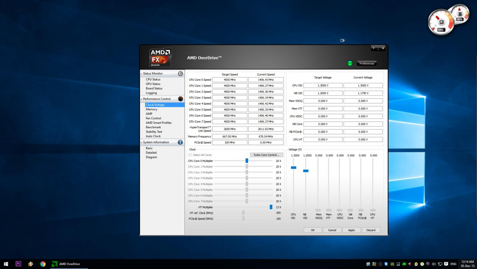 Problem Overclocking with AMD overdrive - CPUs, Motherboards, and