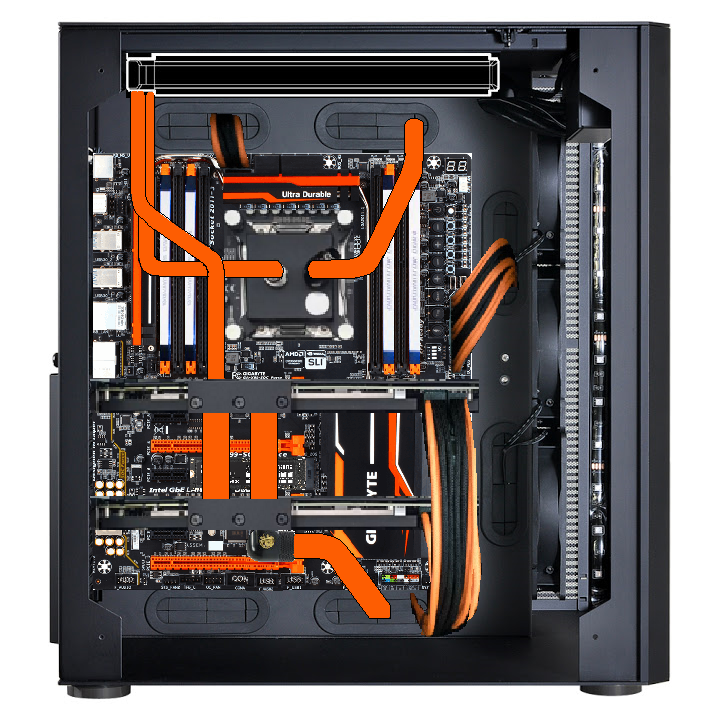 how to build a custom water cooling loop