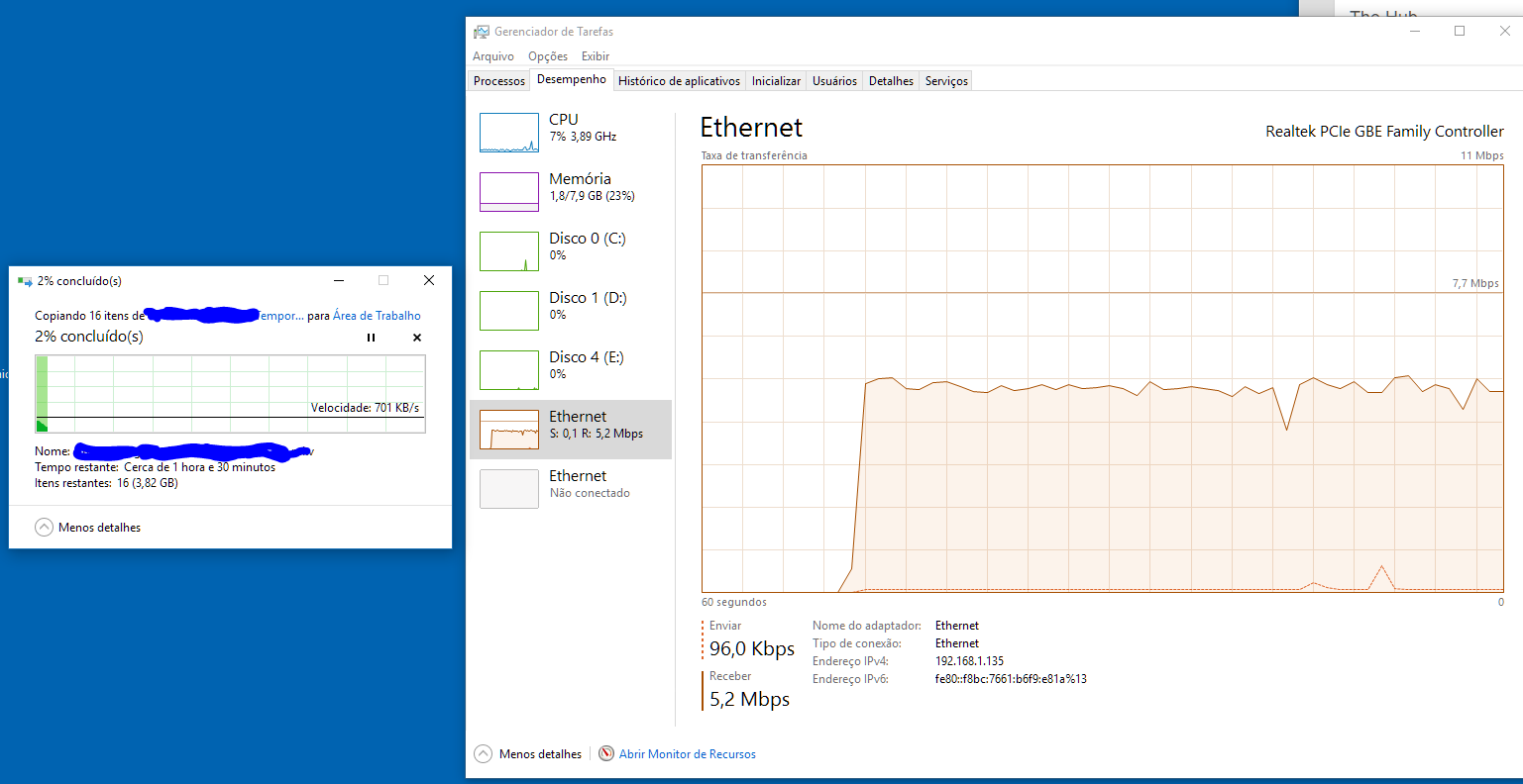 Crappy network share speed - Networking - Linus Tech Tips
