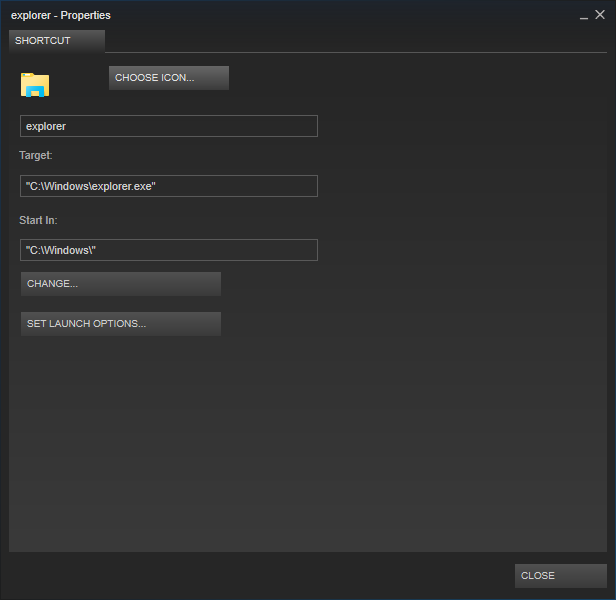 Add Universal Apps and purchased Windows Store games to Steam