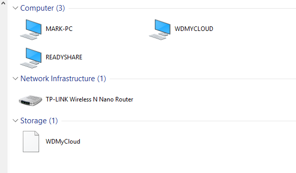Can't Access drive connected to Router (DLNA) - Servers and