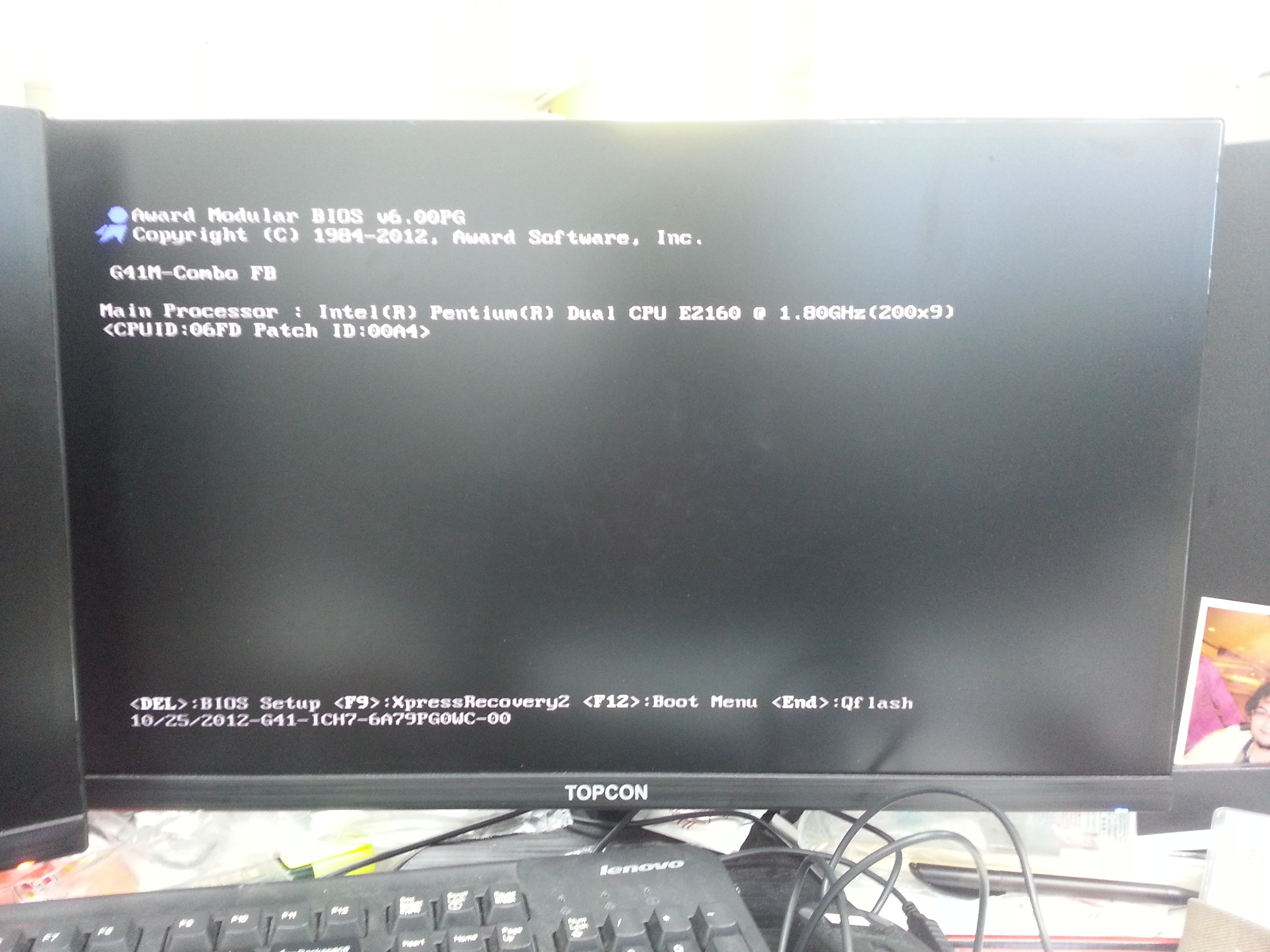 Motherboard Seems To Be Stuck After Post Troubleshooting Linus Gigabyte G41 Img 20160304 141030