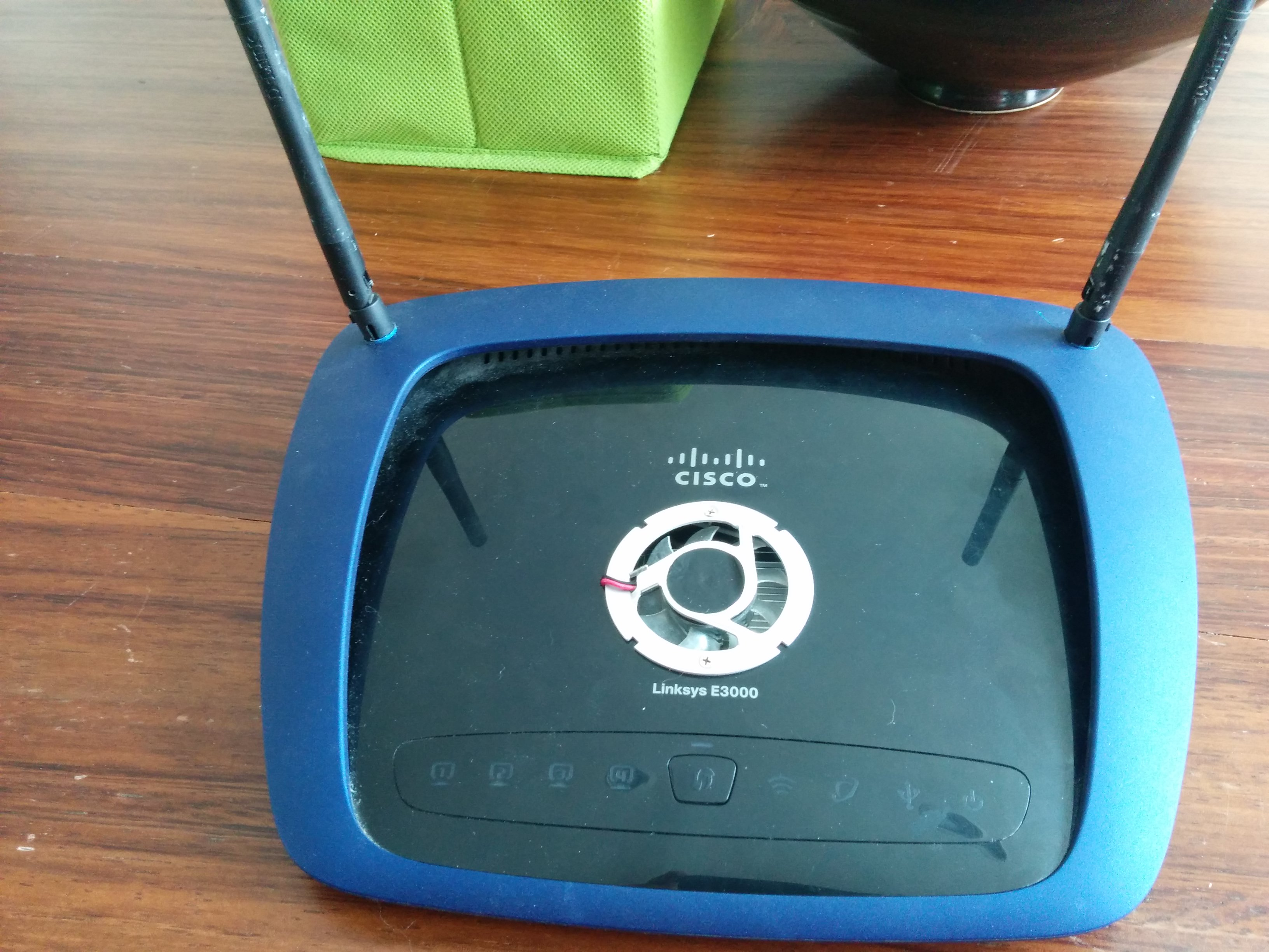 Linksys Router Cooling Fan - Best Router in The World