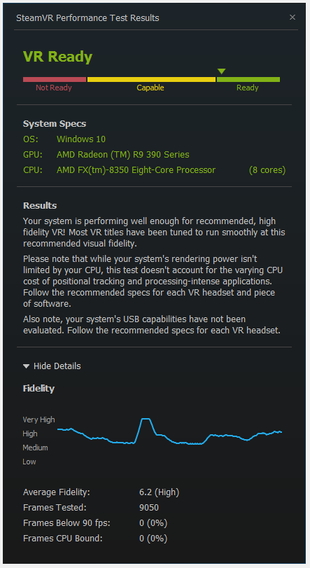 Post your SteamVR Performance Test results here - Page 100