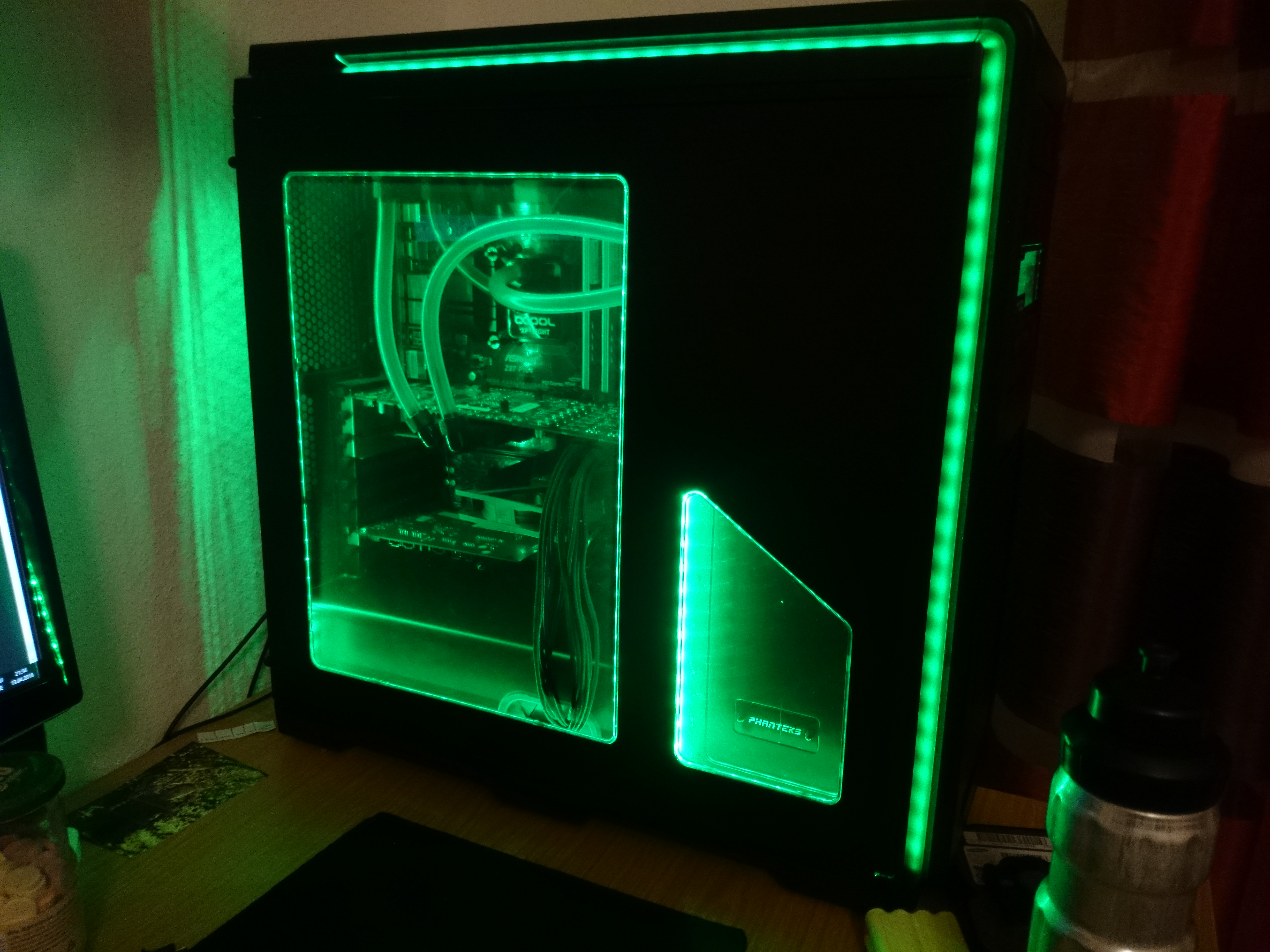 Nzxt H440 Razer Quot Chroma Quot Mod Case Modding And Other Mods