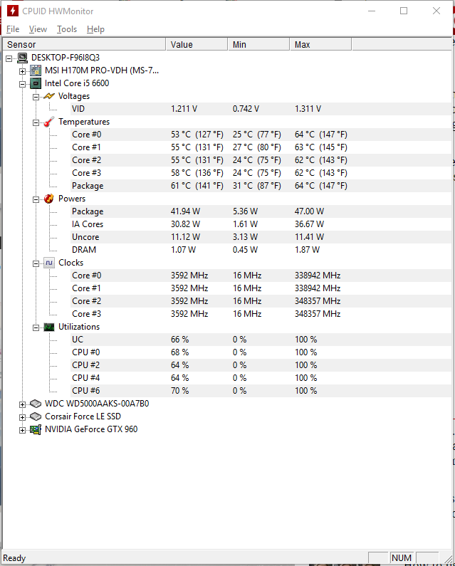 i5-6600 clocks mhz - CPUs, Motherboards, and Memory - Linus