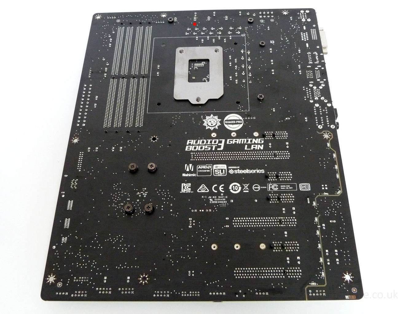 Smd Ceramic Capacitor Fell Off Msi Z170a Gaming M5