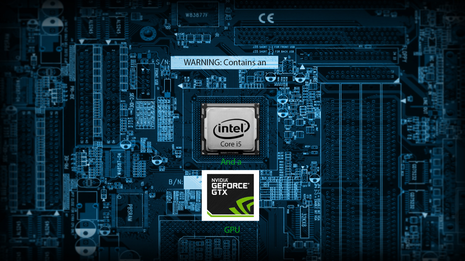 Intel NVIDIA Wallpaper