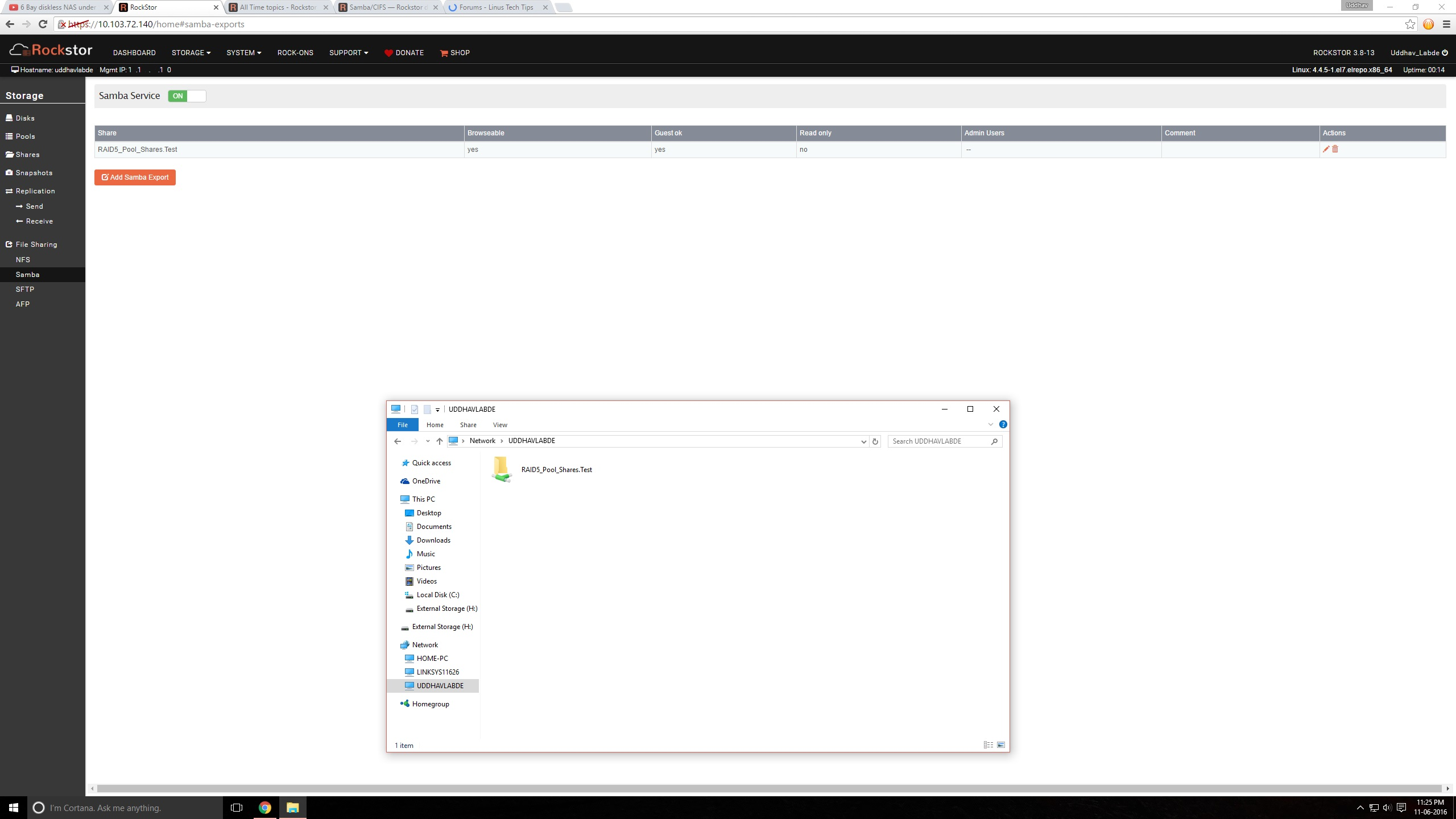 Windows cannot access share - Servers and NAS - Linus Tech Tips