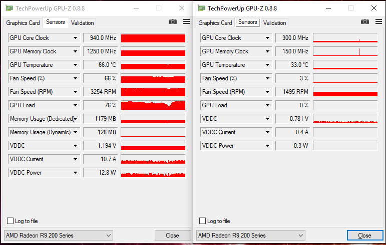 1 GPU idling 15 C higher than the other?? 0_o - Graphics Cards