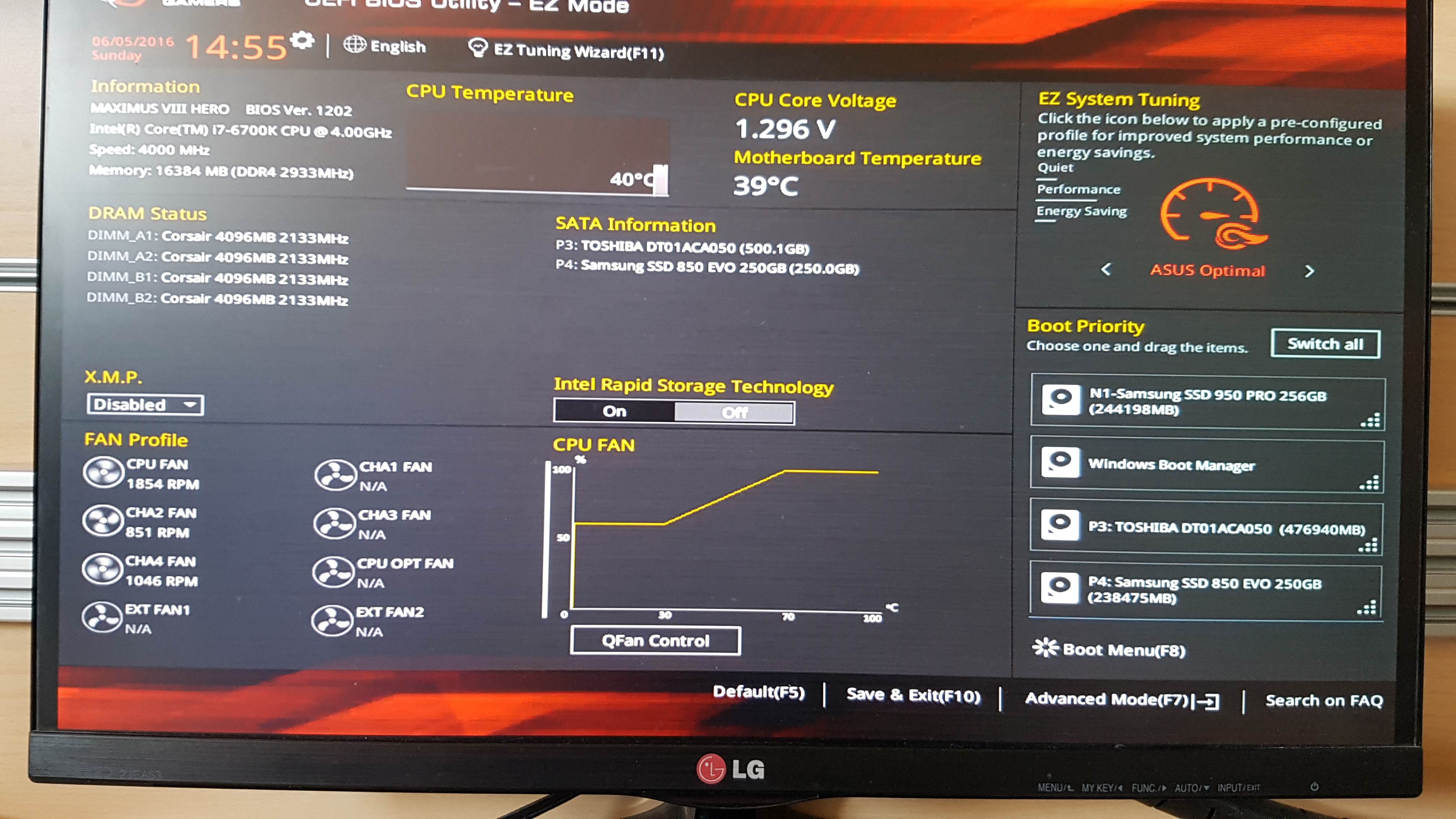 slow boot speed even with nvme ssd - Troubleshooting - Linus