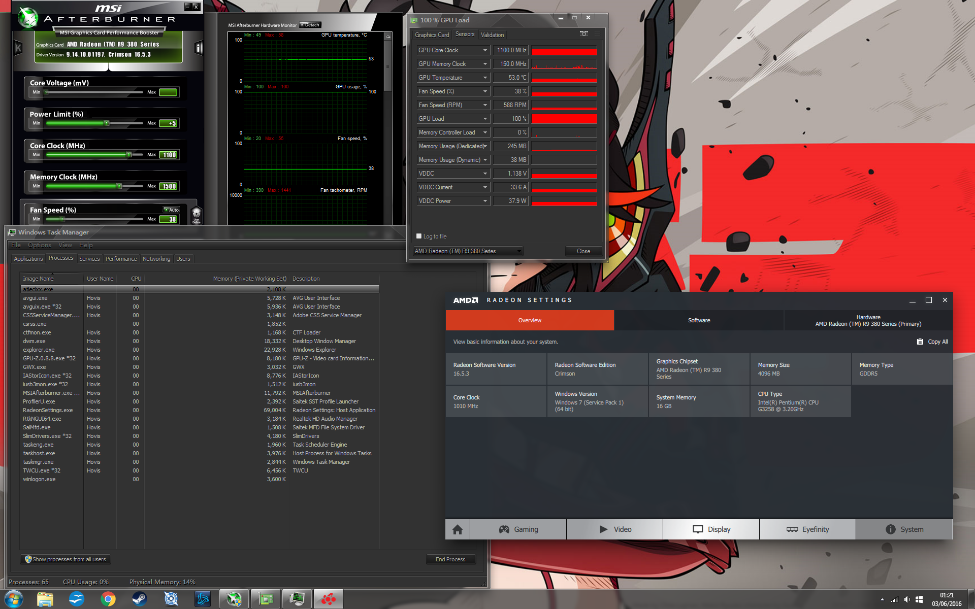 R9 380 stuck on 100% load when idle - Graphics Cards - Linus
