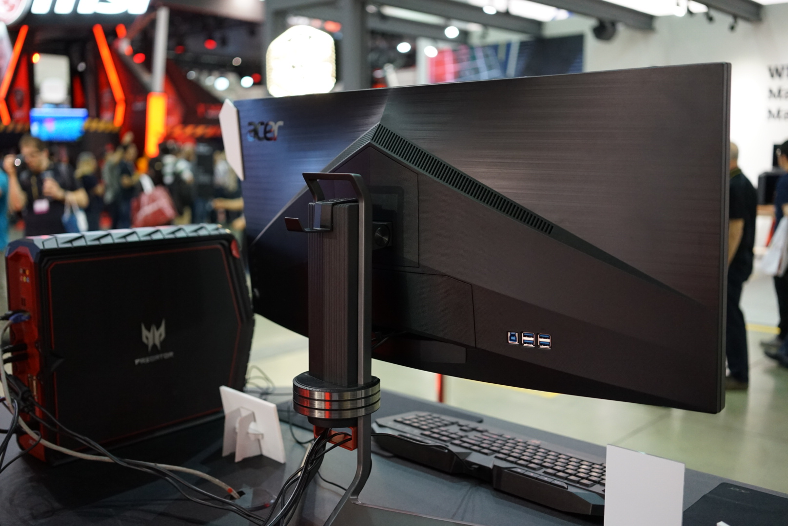 Acer Ultrawide – Predator X34P Spotted at Computex