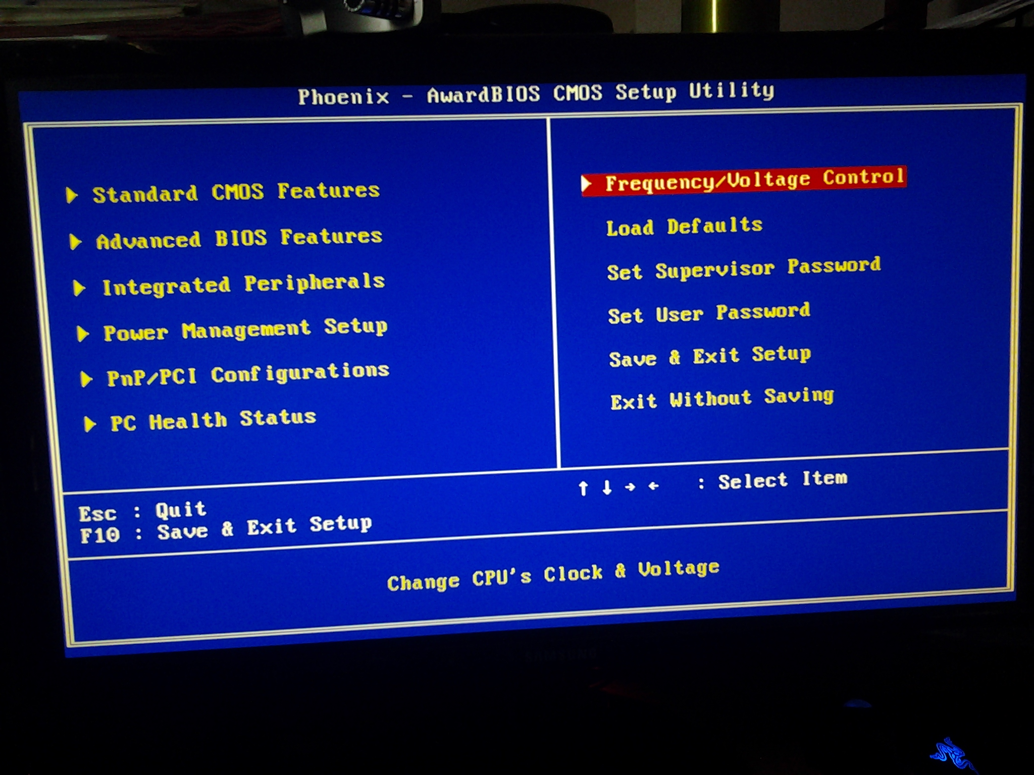 how to set up ram speed in bios