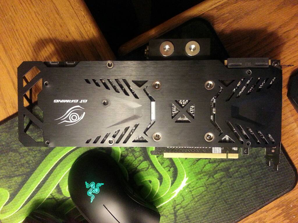 Using stock backplate with EK waterblock - Liquid and Exotic