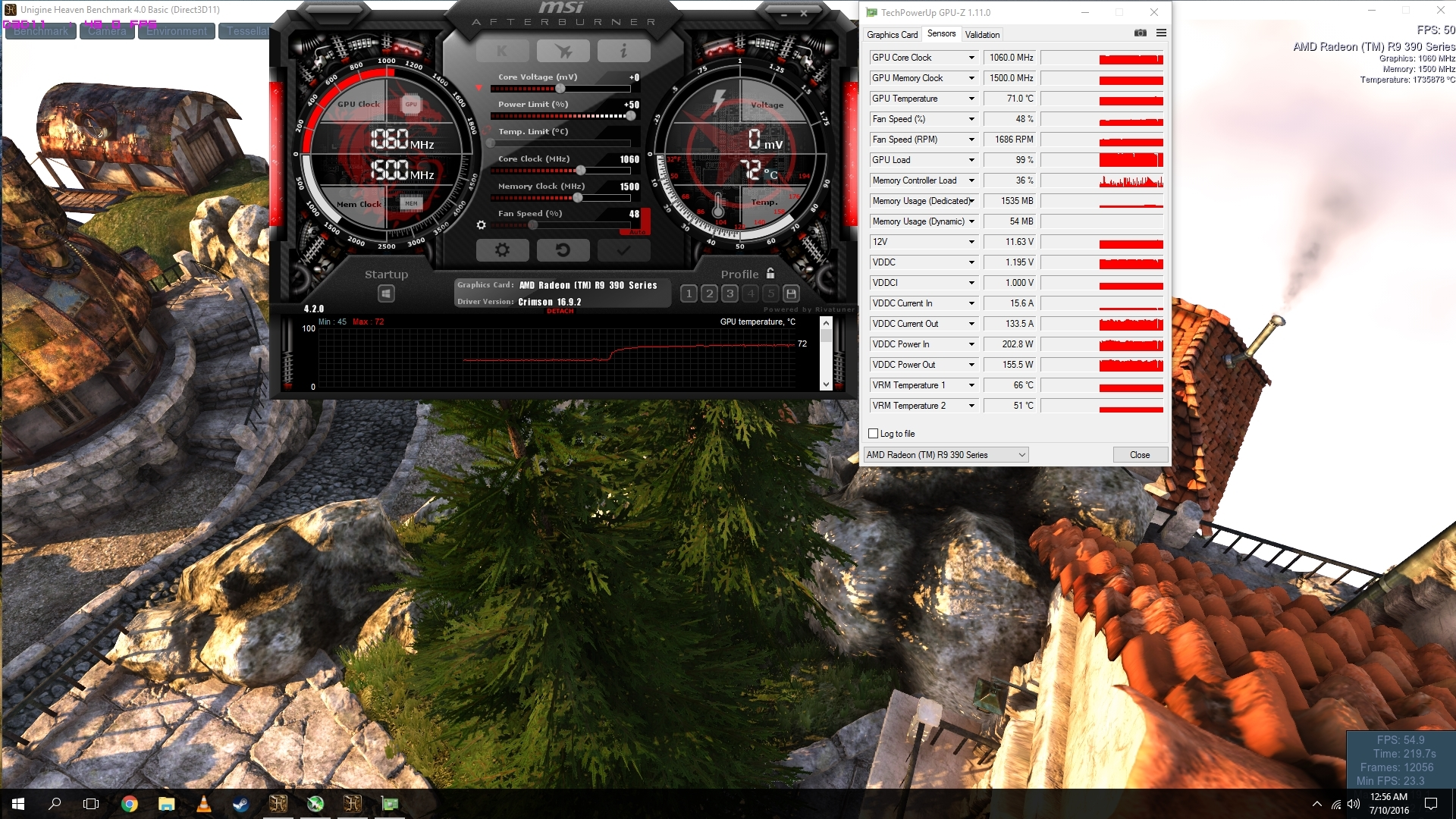 R9 390 having fits when overclocking  - Graphics Cards