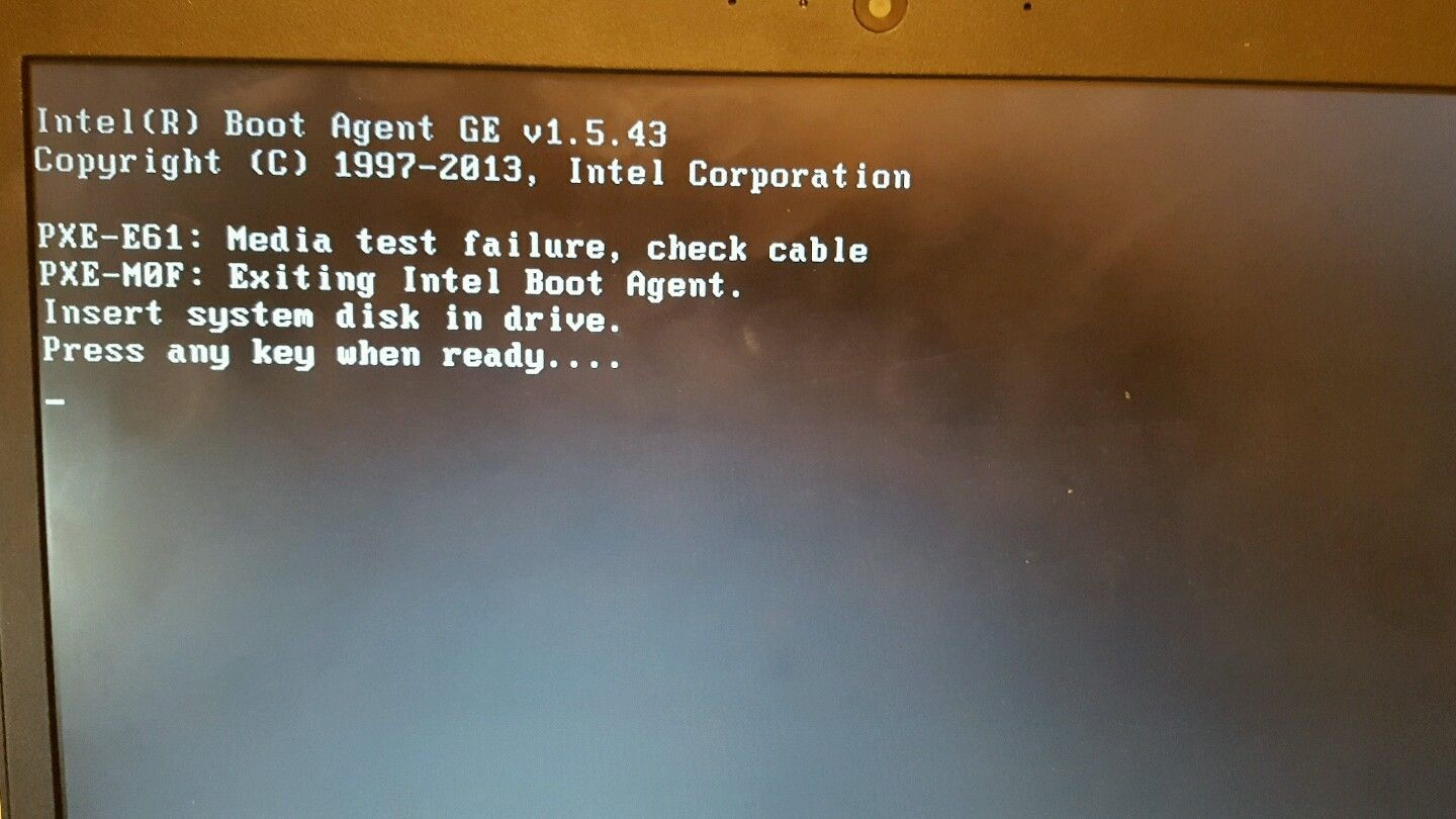 PXE-61 , PXE M0F errors - Troubleshooting - Linus Tech Tips