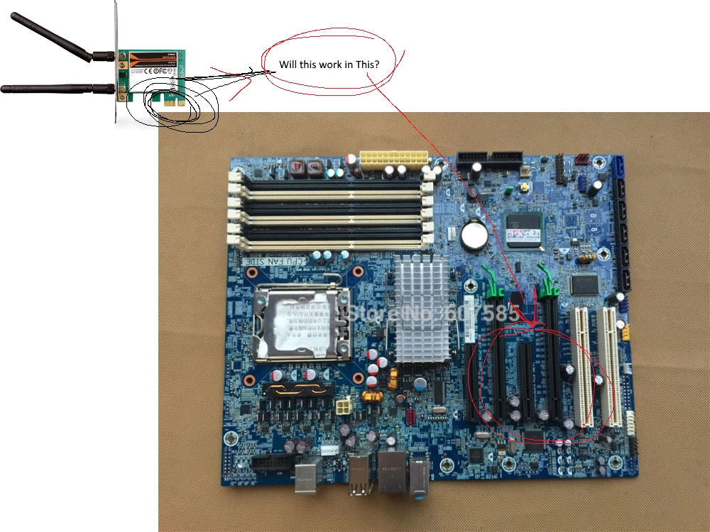 Will pcie x1 work in x16 slot