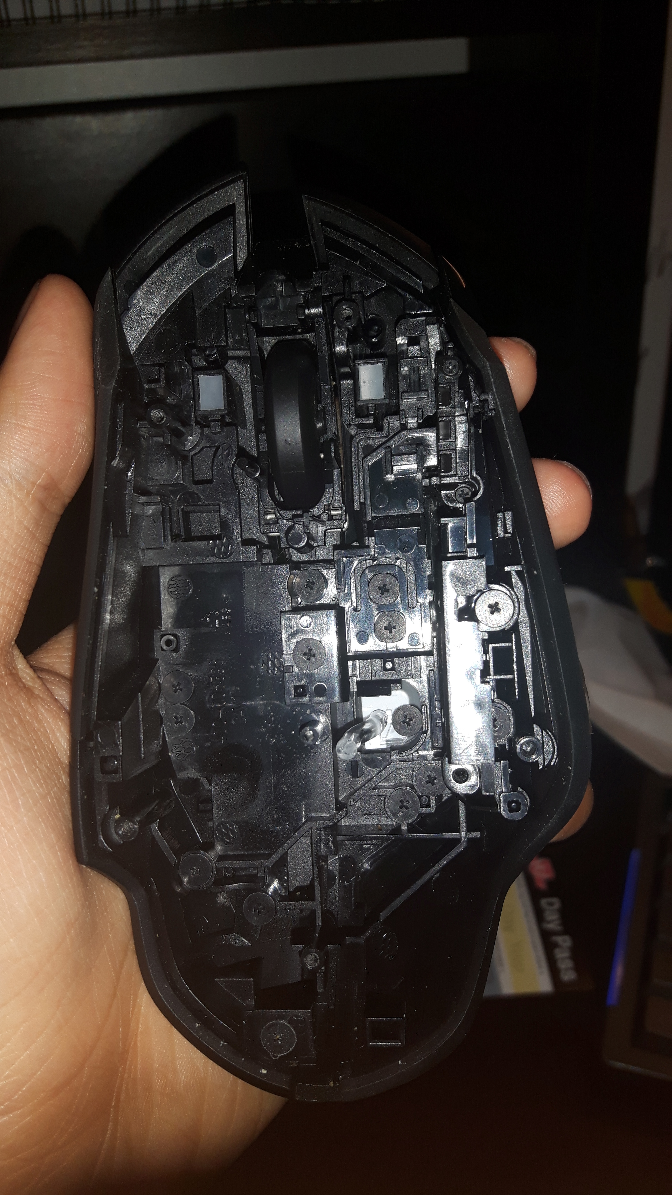 Disassembly Logitech G402 (for cleaning) - Guides and