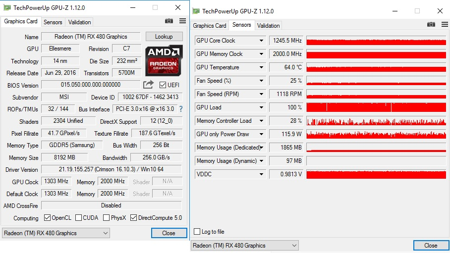 RX480 Gaming X target temp issue? - Graphics Cards - Linus